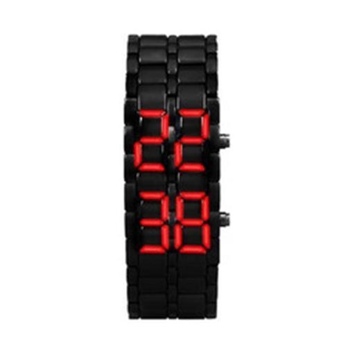 Nơi bán Đồng hồ led mang phong cách samurai (đen)