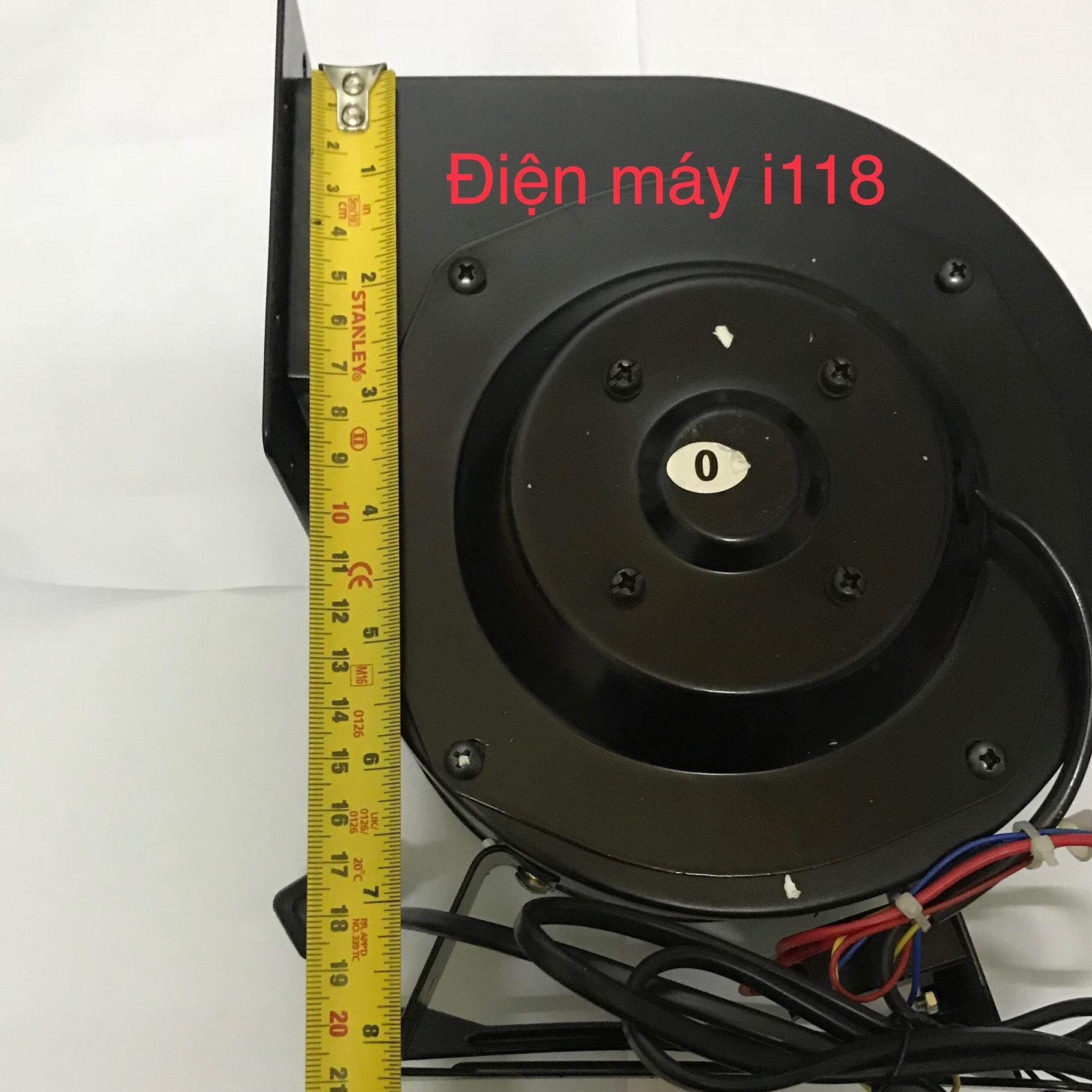 Hình ảnh Quạt thông gió hình sên - động cơ lắp trong 130W /220V