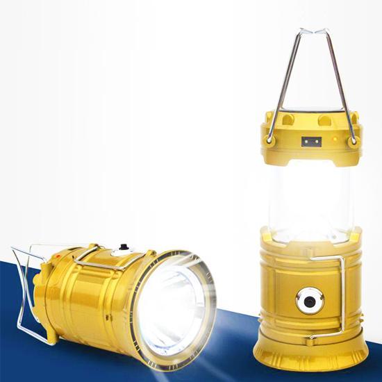 Đèn năng lượng mặt trời kiêm pin dự phòng LED CT451