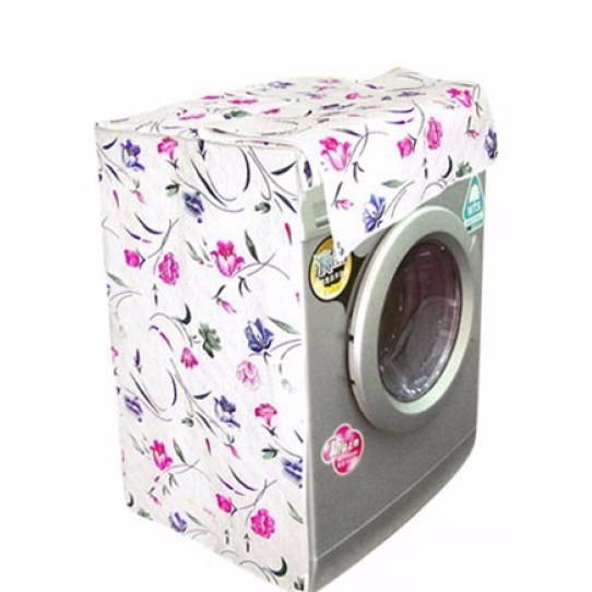 Hình ảnh Áo bọc máy giặt cửa trên loại đẹp + Tặng kèm 1 thẻ điểm tích điểm