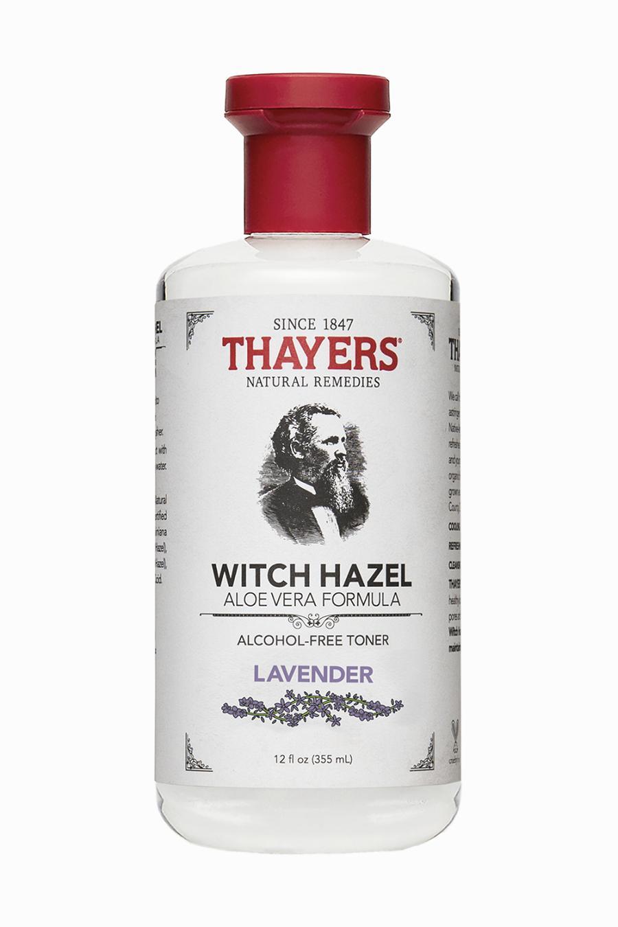 Nước hoa hồng không cồn THAYERS Alcohol-Free Lavender Witch Hazel Toner 355ml (Hương Lavender - Dành cho da mụn)