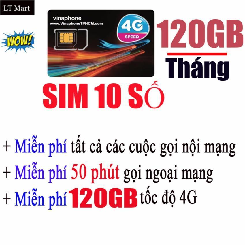 Hình ảnh Sim (10 Số Dễ Nhớ) 4G Vinaphone VD89Plus 120GB/Tháng + miễn phí gọi nội mạng