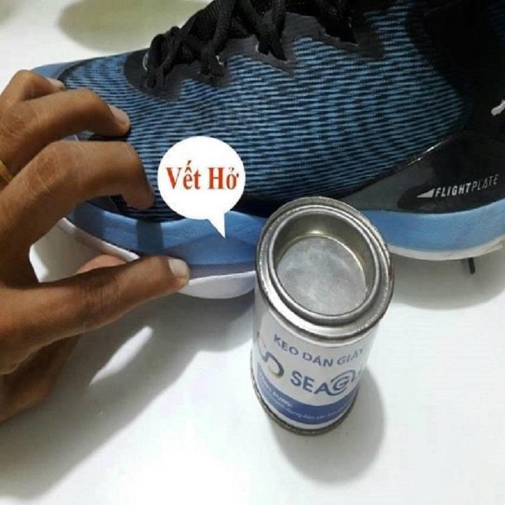 Keo Dán Giày SeaGlue Trong Suốt,Bám Dính Và Chịu Nước Tốt