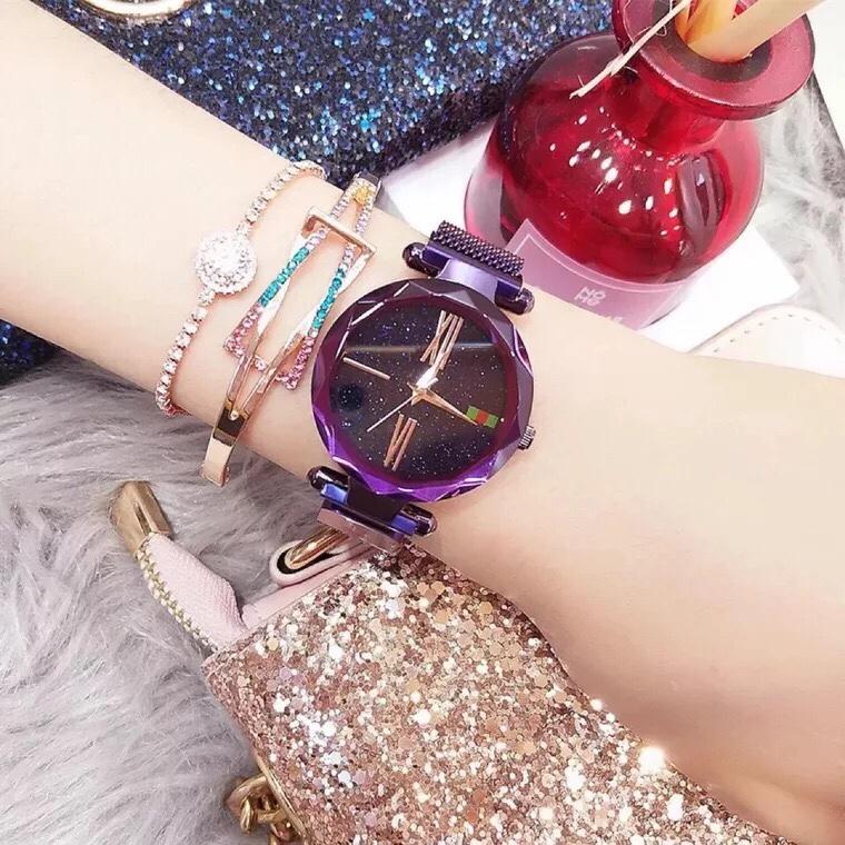 Hình ảnh Đồng hồ thời trang nữ dây nam châm DIMINI - Hàn Quốc