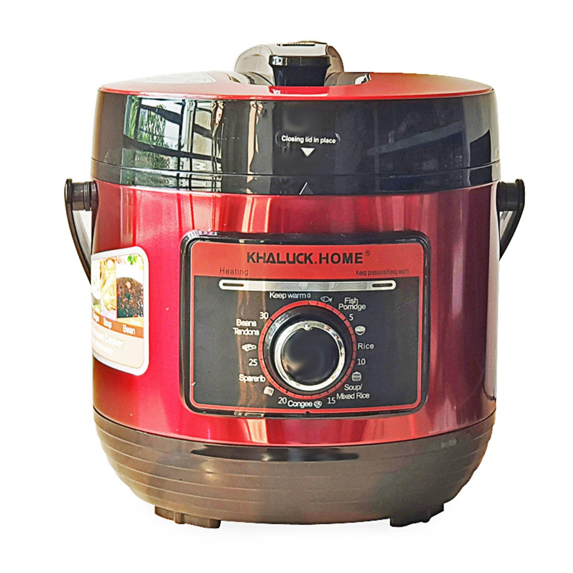 Nồi áp suất 6 Lít Inox 304, công suất 1000W Khaluck.home KL-708 - Hãng phân phối chính thức