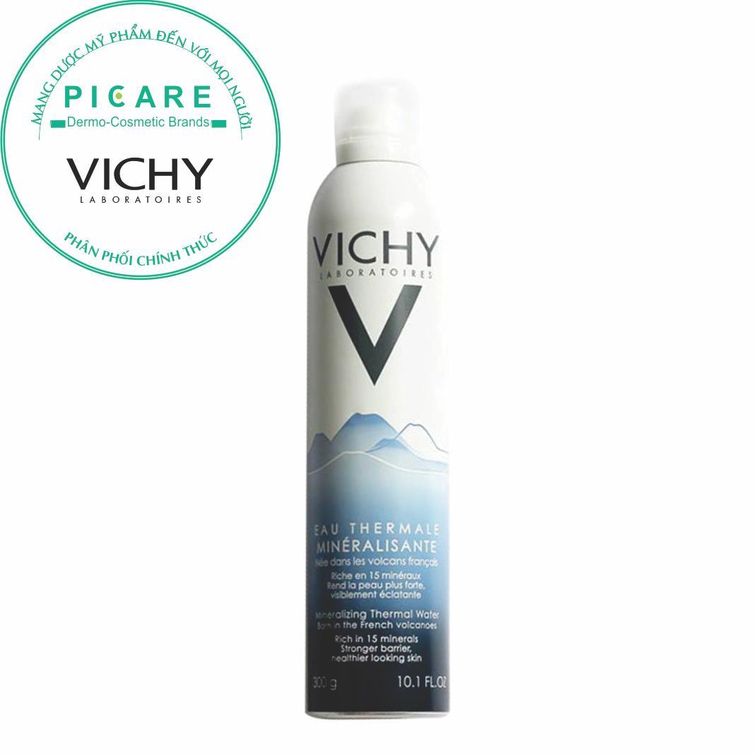 Vichy Xịt khoáng dưỡng da Mineralizing Thermal Water 300ml