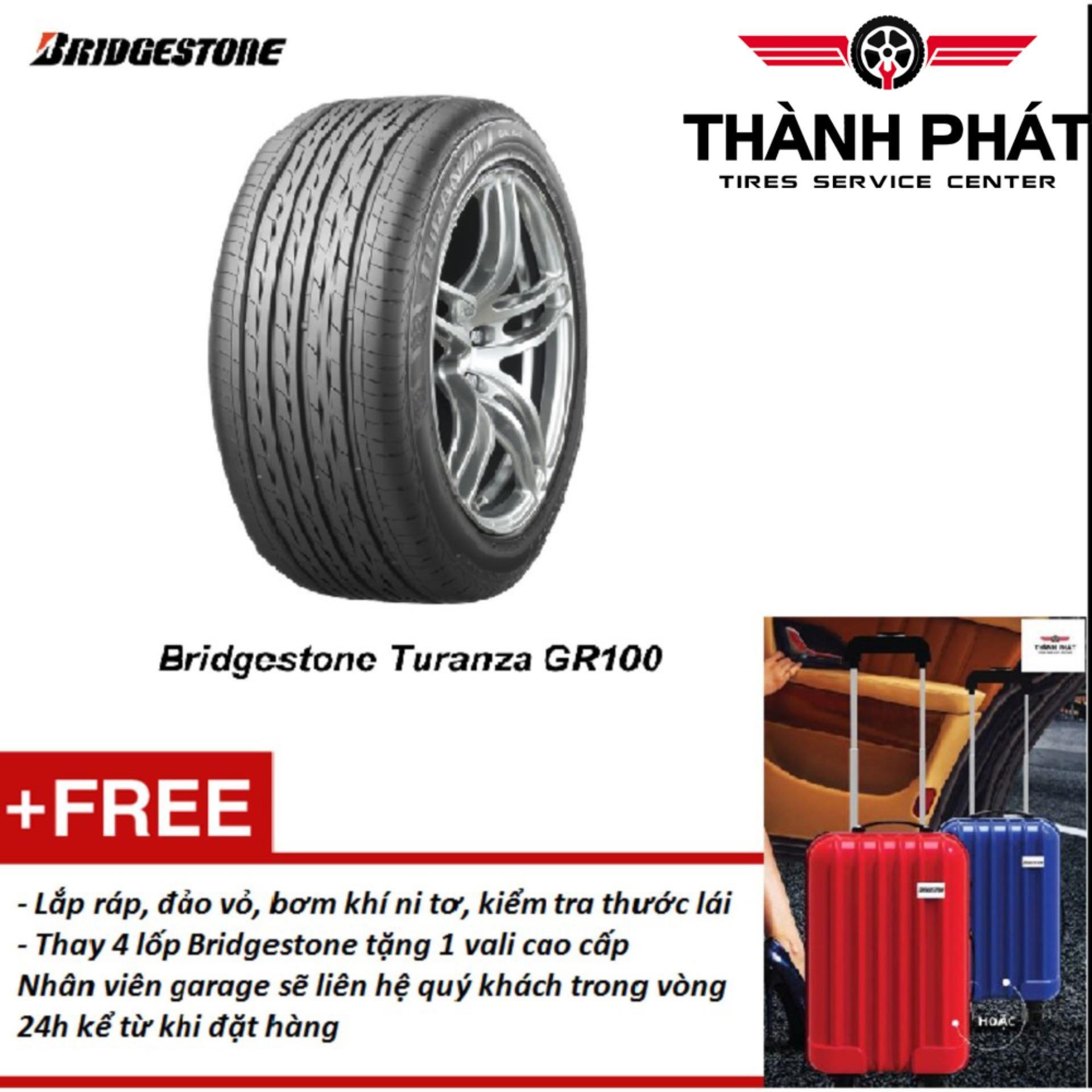 Lốp xe ô tô Bridgestone Turanza 245/50R18 Miễn phí lắp đặt