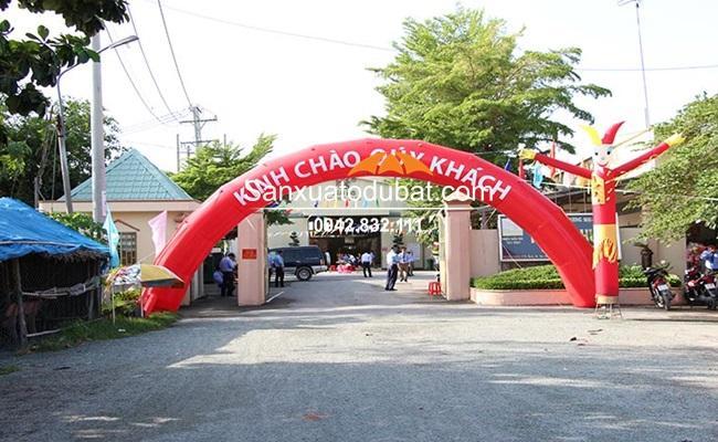 Cổng Hơi Sự Kiện Ý Tưởng Việt ĐK 10m cao 5m