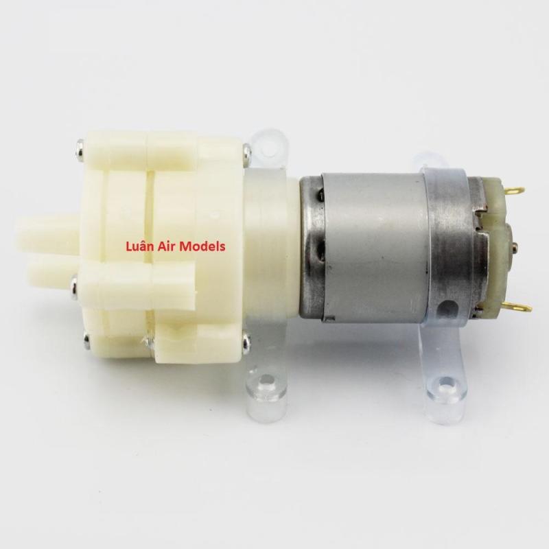 Motor bơm nước mini 12V R385 để thay thế, chế tạo máy bơm, máy tưới, thiết bị giải nhiệt bằng nước, đồ chơi sáng tạo (MO141 TP, ĐN) - Luân Air Models