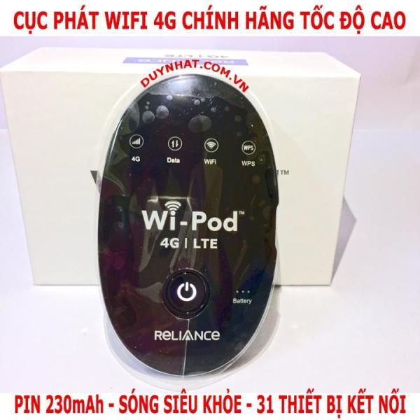 Bảng giá Bộ phát wifi từ sim 3G/4G ZTE WD670 4G lTE - Phiên bản Plus (Đen) Phong Vũ