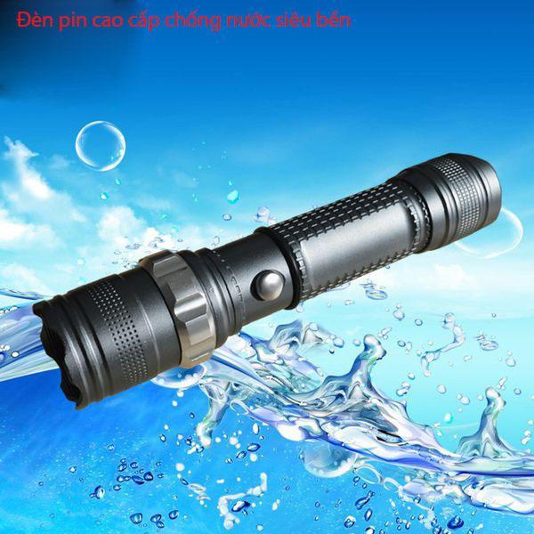 Đèn pin mini xịn mỹ-Đèn pin siêu sáng PROSPER, đèn pin chống thấm nước, sử dụng bóng đèn led nhập khẩu Mỹ siêu bền - Đèn pin nhập, bảo hành 1 đổi 1, tặng kèm tín hiệu cảnh báo thông minh