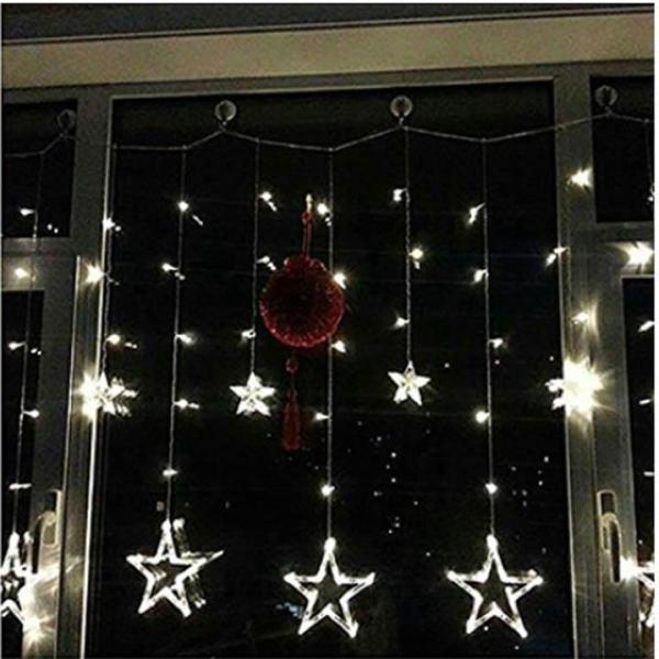 Bộ đèn led rèm ngôi sao
