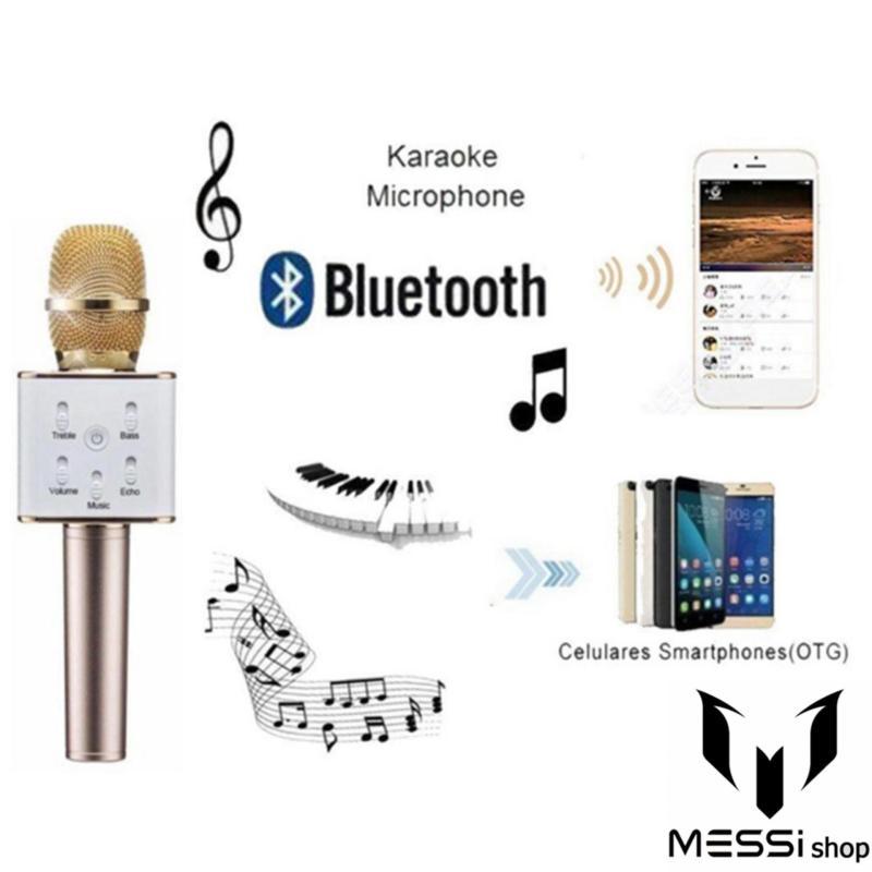 Micro không dây hát karaoke hay-Các loại micro hát karaoke-Mic karaoke Q7 cao cấp 3 trong 1 thế hệ mới năm 2019.Được mọi người lựa chọn nhiều trong năm nay-giảm tới 50% -bảo hành 1 đổi 1 trong vòng 7 ngày.