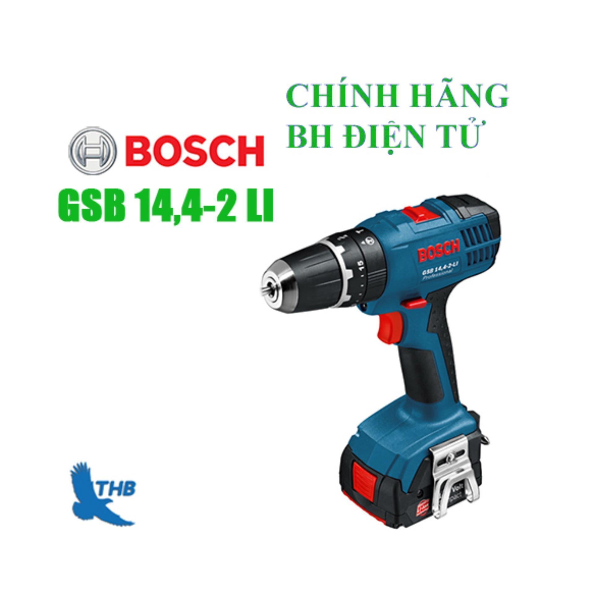 Máy khoan động lực dùng pin Bosch GSB 14,4-2-LI SET