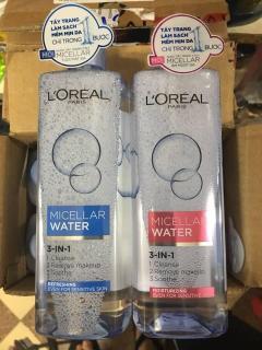 Nước Tẩy Trang Dưỡng Ẩm L Oreal Micellar Water 400ml thumbnail