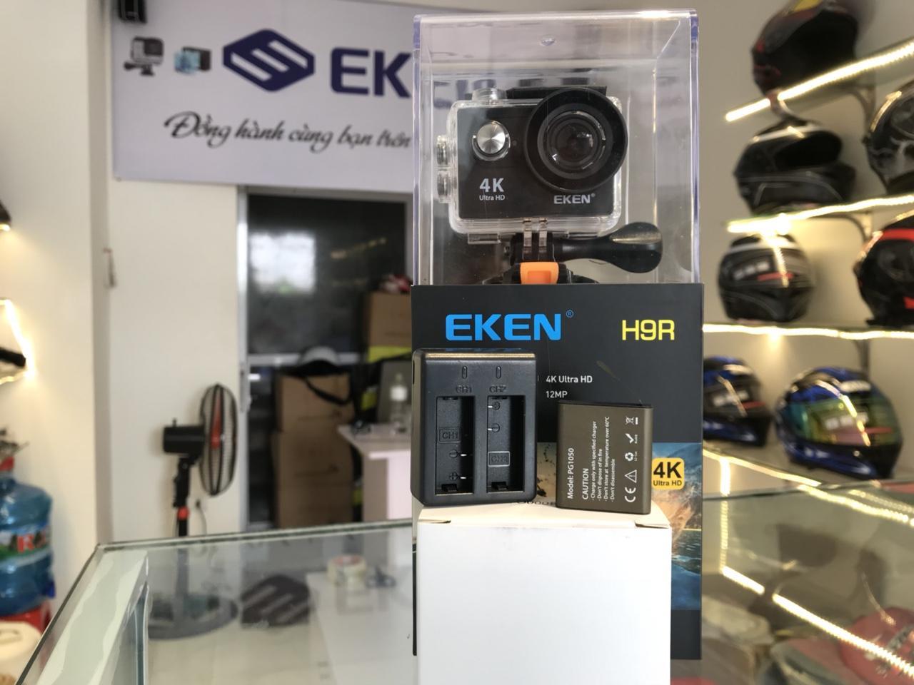 Hình ảnh Camera Eken H9r TẶNG 1 PIN 1 DOCK SẠC ĐÔI bản mới V5 2018 - EKEN