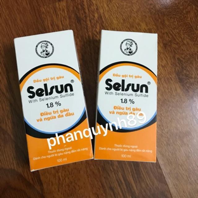 Dầu gội trị gàu Selsun 1.8% - Dành cho người bị gàu nặng đến rất nặng giá rẻ