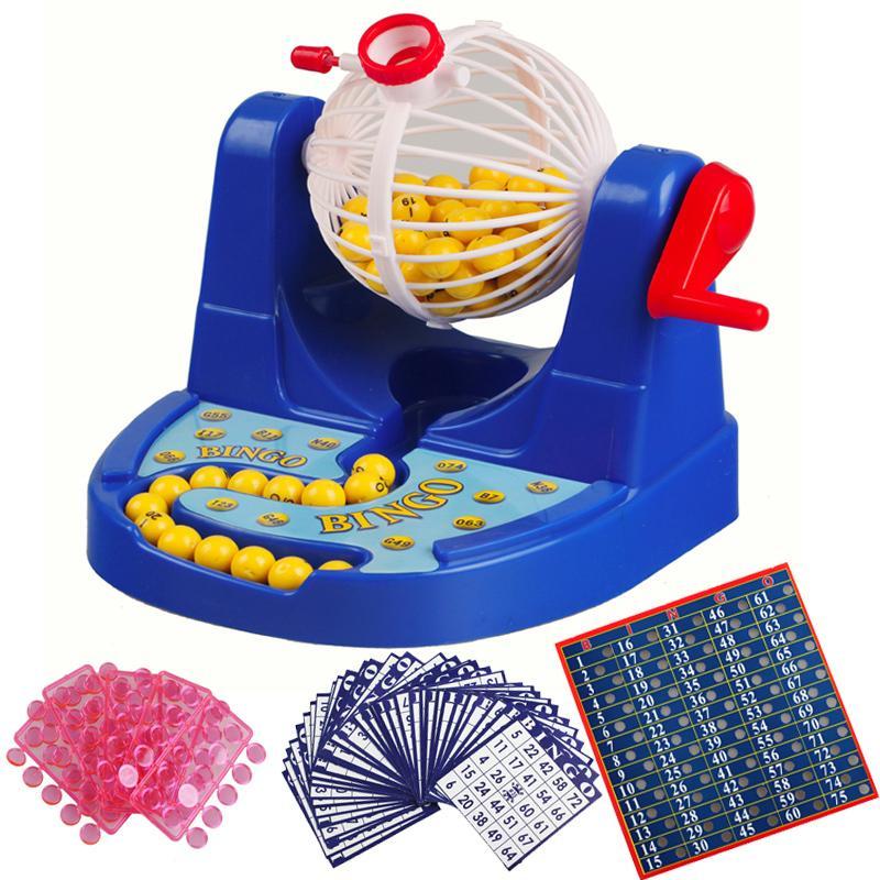 Hình ảnh Bộ đồ chơi quay xổ số Bingo Lotto 90 số 48 thẻ giá rẻ