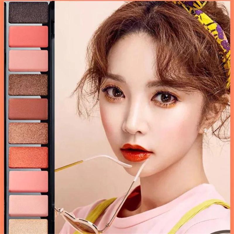 Bảng Phấn Mắt 10 Màu Lameila Fashion