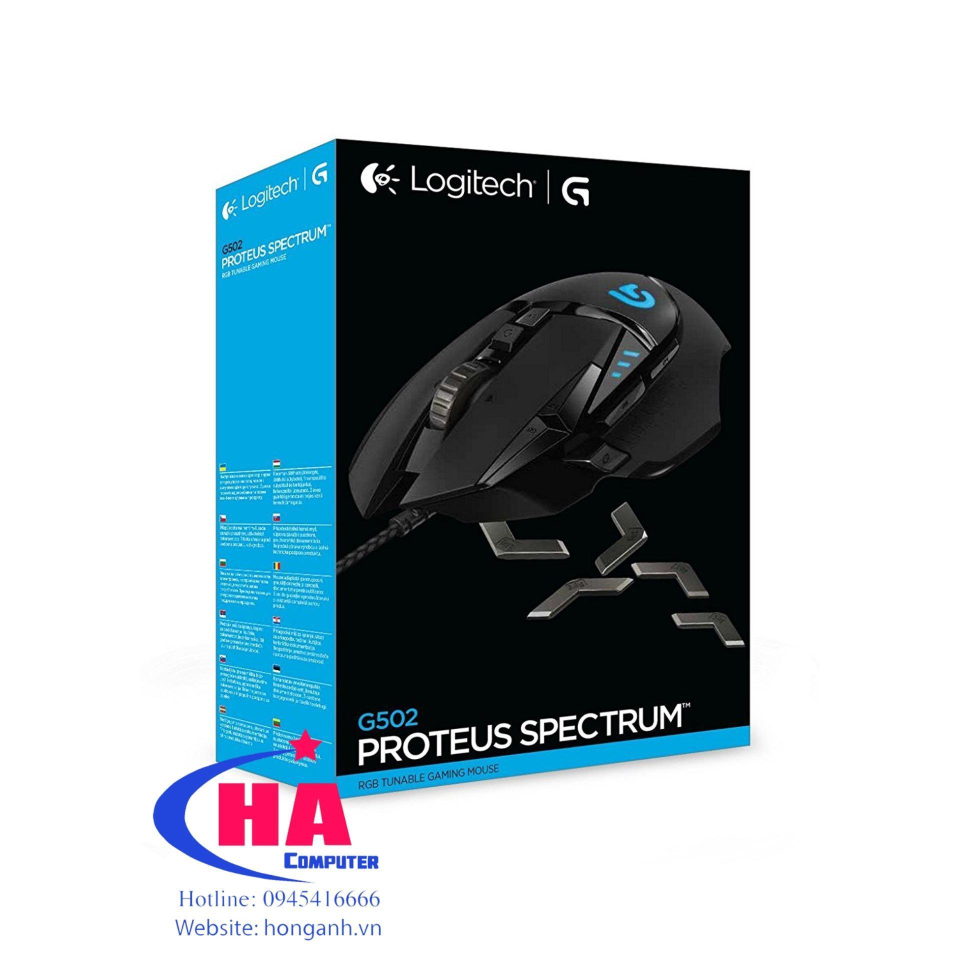 Chuột Logitech G502 RGB Spectrum USB
