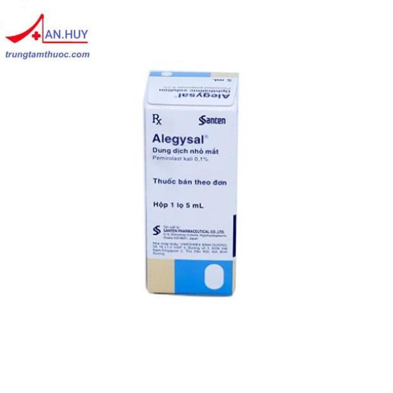 Dung dịch nhỏ mắt Alegysal 5ml