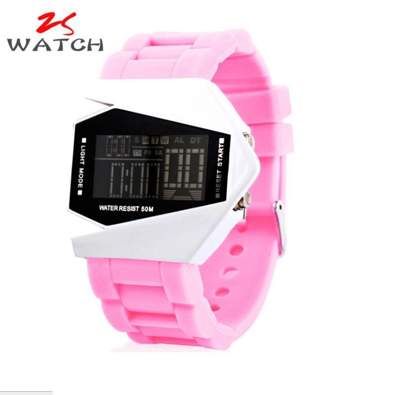 Nơi bán Đồng hồ trẻ em dây silicon chống nước cao cấp (màu hồng)