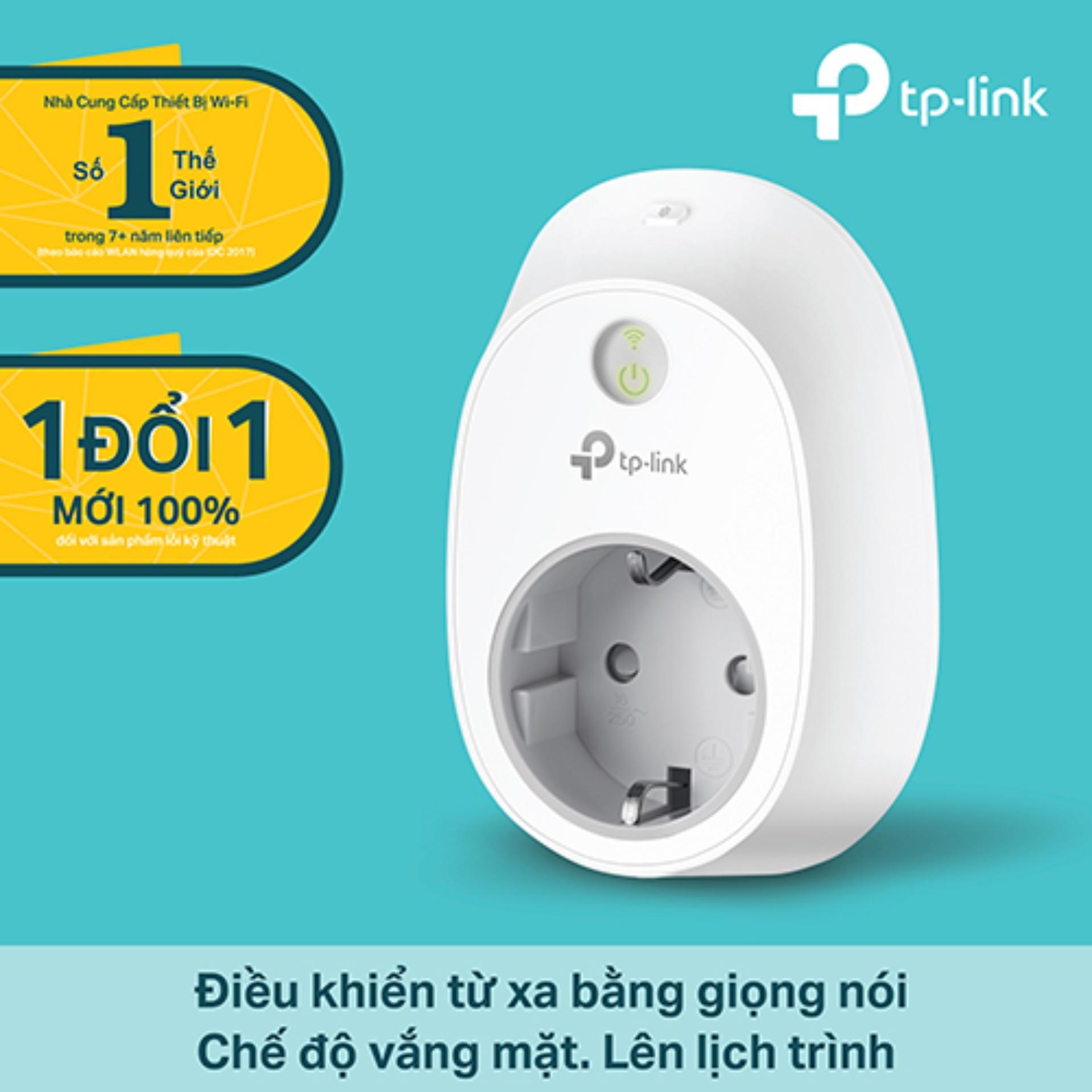 Hình ảnh TP-Link - HS100 - Ổ cắm điện thông minh Wi-Fi-Hãng phân phối chính thức
