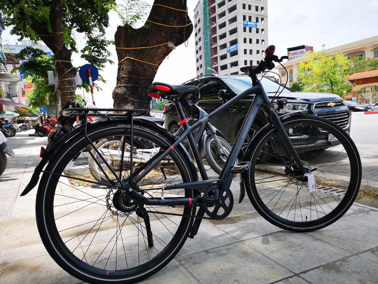 xe đạp đường phố cao cấp PEUGEOT T01-N8 BELT