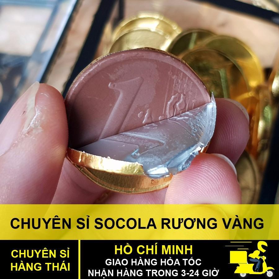 Hình ảnh Kẹo rương đồng tiền socola thái lan