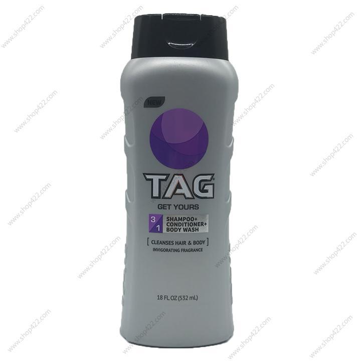 Sữa Tắm Gội Xả TAG 3in1 Get Yours 532ml nhập khẩu