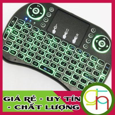 Hình ảnh Bàn Phím Kiêm Chuột Bay Ukb500 Pro ( CÓ Đèn Led) dành cho Android TV box, Smart TV, Laptop