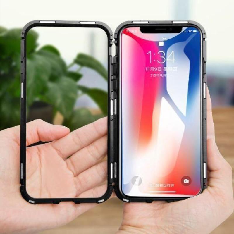 Giá Ốp lưng cường lực nam châm cho iphone X (siêu bền)