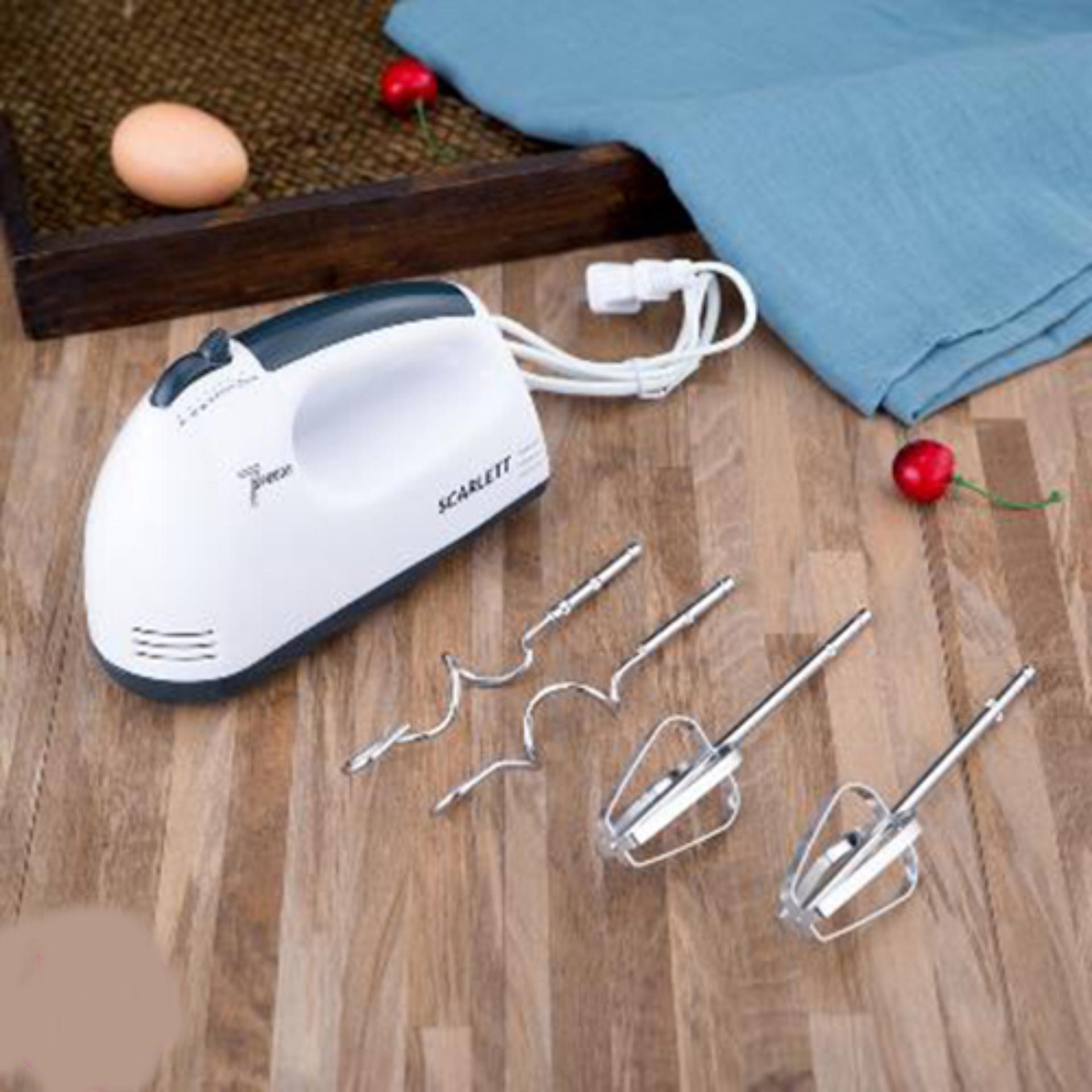 Mua máy đánh trứng cầm tay ở đâu - Đánh trứng bằng tay - Máy Đánh Trứng  MDT008, 7 tốc độ đánh, công suất 180W tiết kiệm điện năng BH UY TÍN BỞI BB STORE - B0037