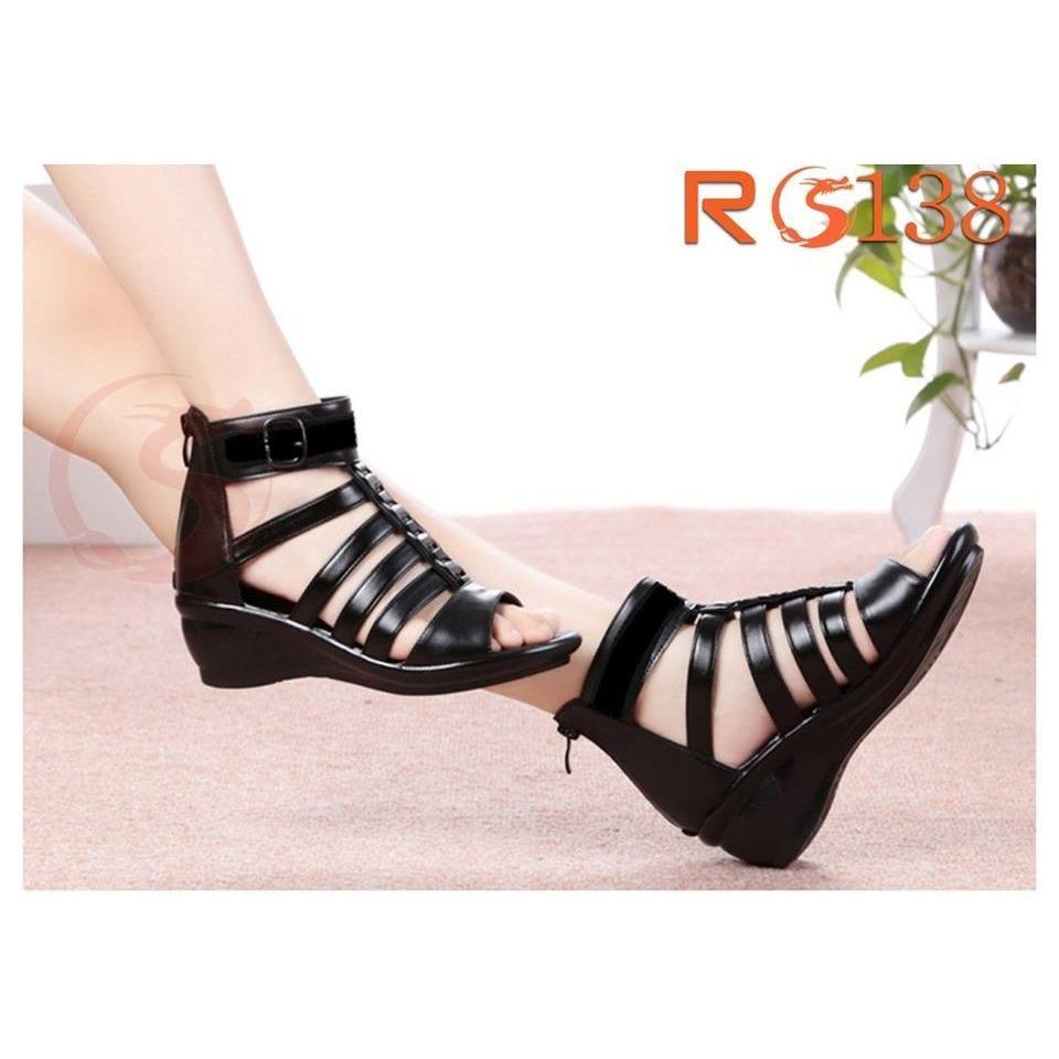 Mua Giay Sandal Nữ Đẹp Đế Xuồng Hang Hiệu Rosata Chiến Binh Ro138 Rosata Trực Tuyến