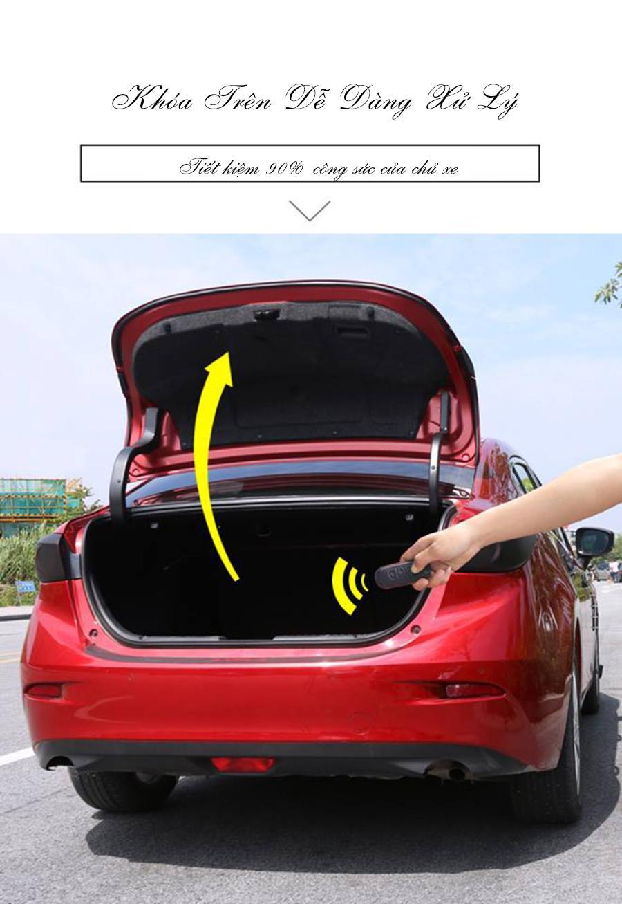 2 Lò Xo tự động mở cốp ô tô