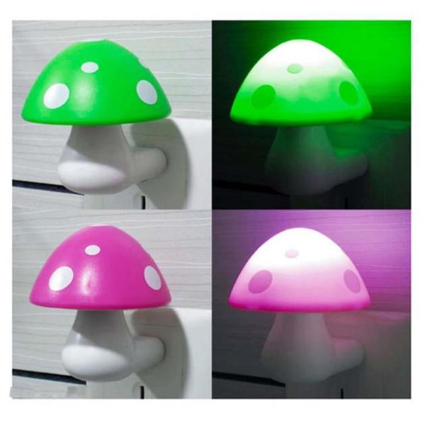 Đèn Ngủ Led Cảm Ứng Hình Nấm ( Màu ngẫu nhiên)