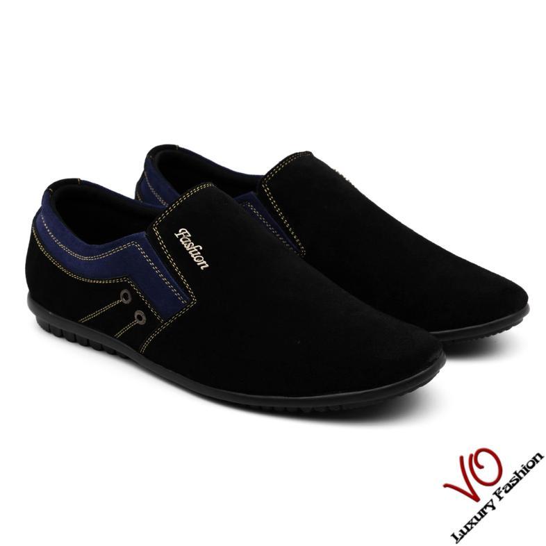 Giày thể thao nam da bò (da lộn) VO VP09.1069 giá rẻ