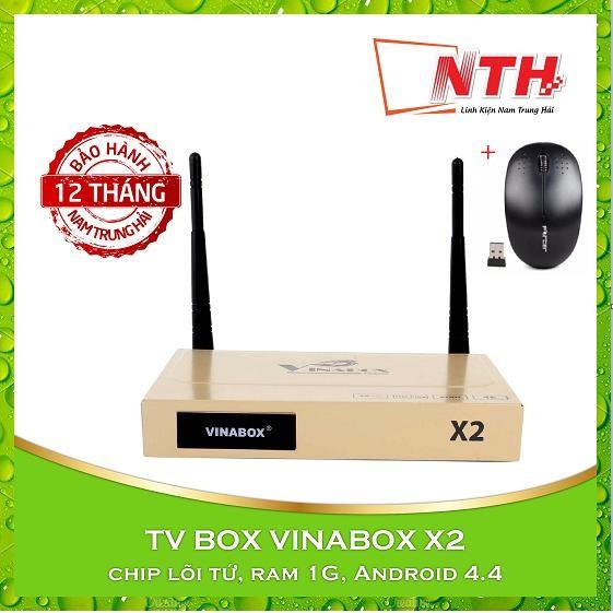 Mua Android Tv Box Vinabox X2 Chuột Khong Day Rẻ
