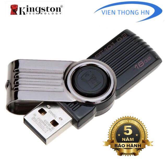 Hình ảnh USB 2.0 Kingston 16GB DT101 G2 - CÓ NTFS - CAM KẾT BH 5 NĂM 1 ĐỔI 1