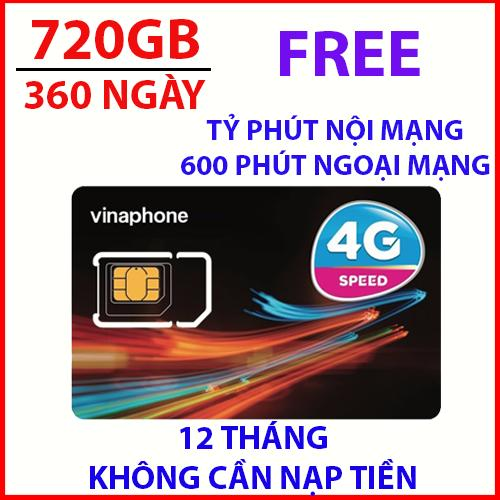 Hình ảnh Sim 4G vinaphone VD89 trọn gói 1 năm không cần nạp tiền