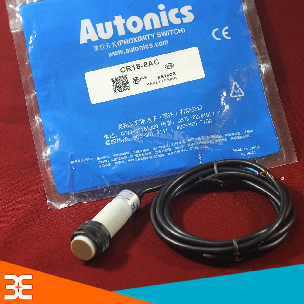 Cảm Biến Tiệm Cận Điện Dung Autonics CR18-8DP (PNP,NO) 12-24VDC