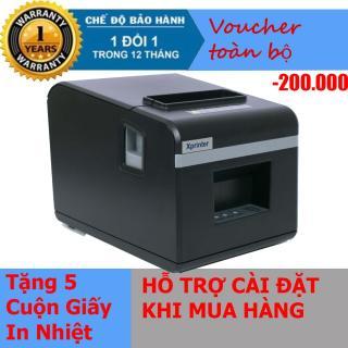 Máy in hóa đơn XPRINTER N160II KHỔ GIẤY 80mm (CỔNG KẾT NỐI USB) - Nhập Khẩu thumbnail