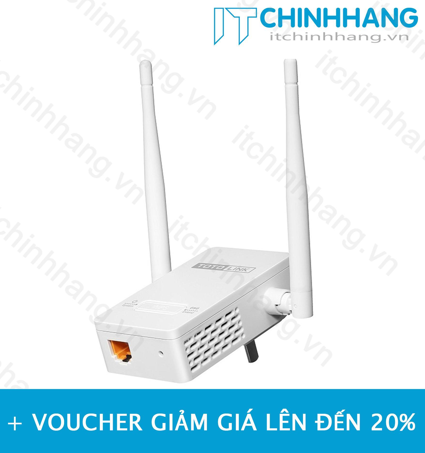 Hình ảnh Thiết bị mở rộng sóng Wifi ToToLink EX200 - HÃNG PHÂN PHỐI CHÍNH THỨC