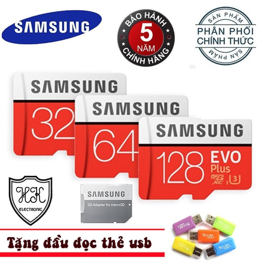 Bán Mua Thẻ Nhớ 32G Microsdhc Samsung Evo Plus Phan Phối Chinh Thức Tặng Đầu Đọc Thẻ Nhớ Hồ Chí Minh