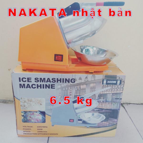 Máy bào đá Nakata 1 lưỡi  máy bào đá chuyên nghiệp