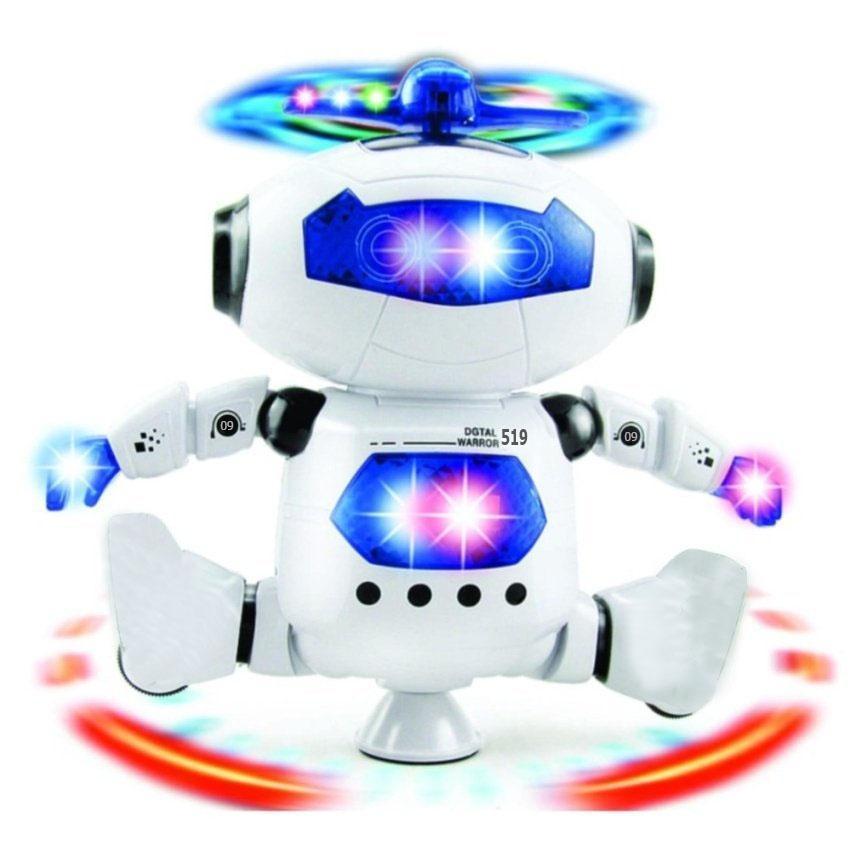 Hình ảnh Robot Biết Nhảy Và Hát Xoay 360 Độ US04019 (DC2548)