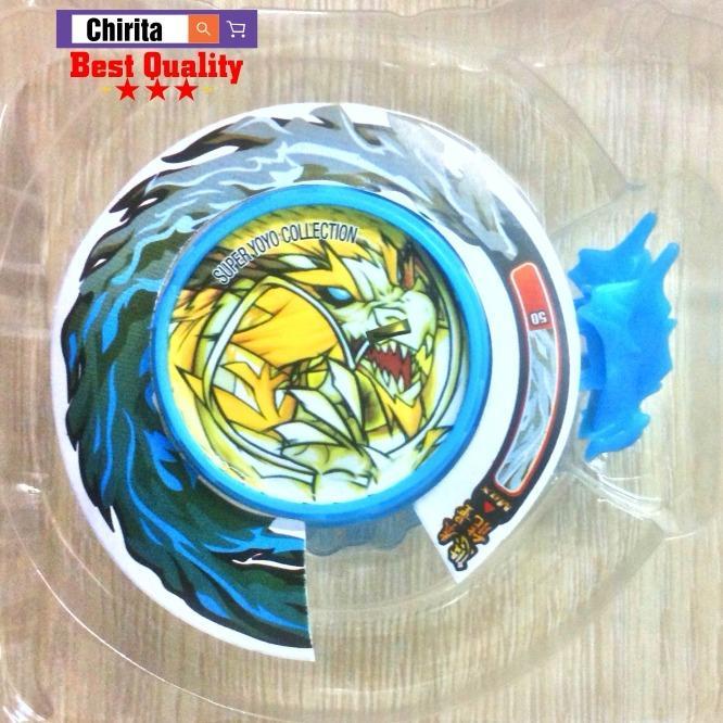Hình ảnh Yoyo CÓ ĐÈN Yo Kwon Do Thần Rồng Linh Thú Y28 Tự Rút Dây- Chirita YTDC2