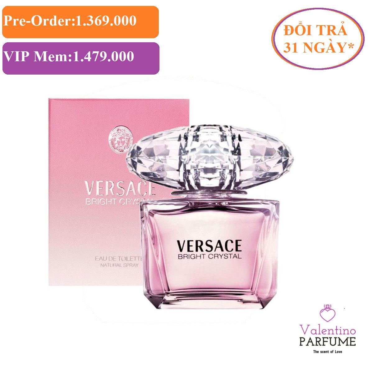 Nước hoa cao cấp Versace Bright Crystal EDT 90ml - Đổi trả 31 ngày