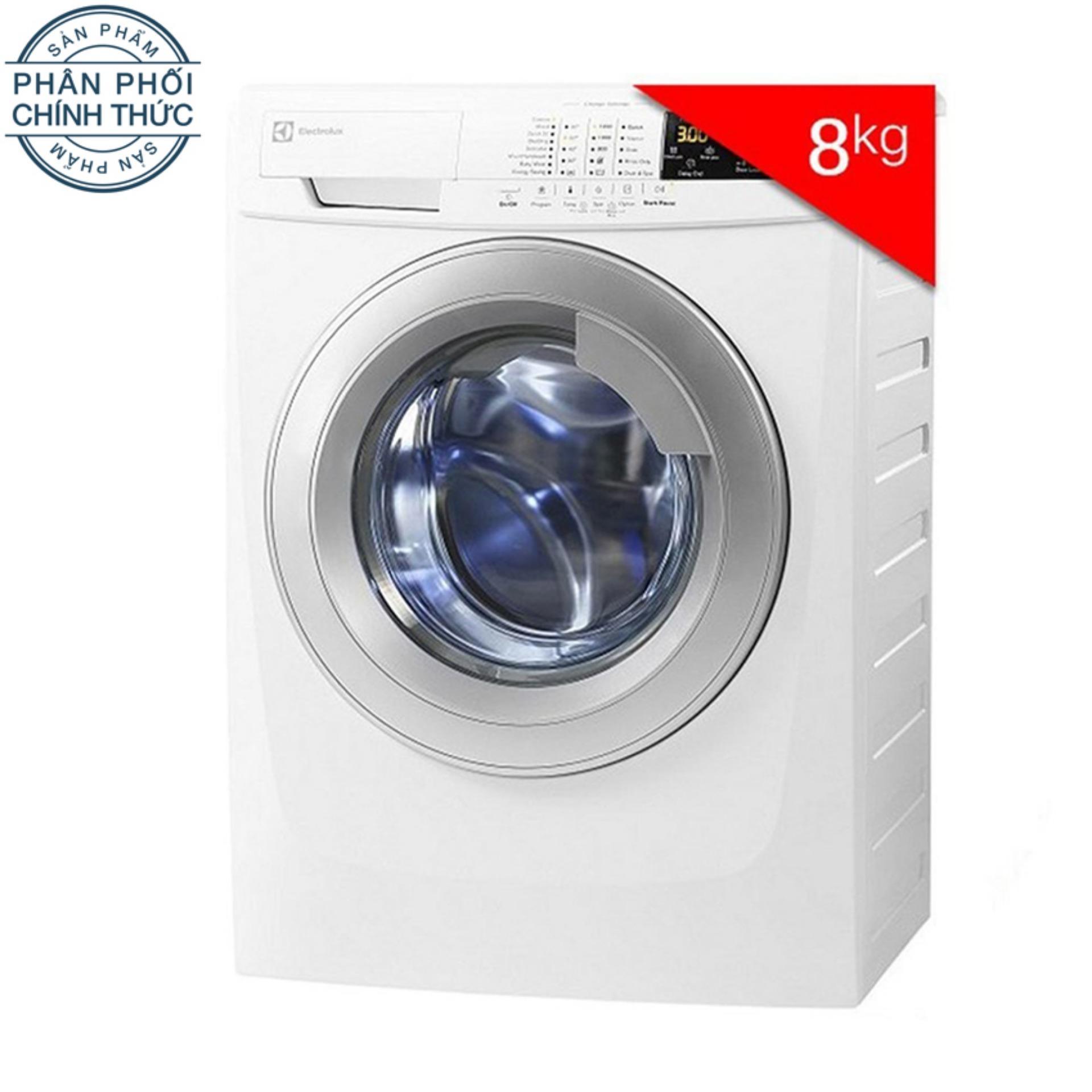 Hình ảnh Máy Giặt Cửa Trước Electrolux EWF12843 DL0700339 (8.0Kg) (Trắng)