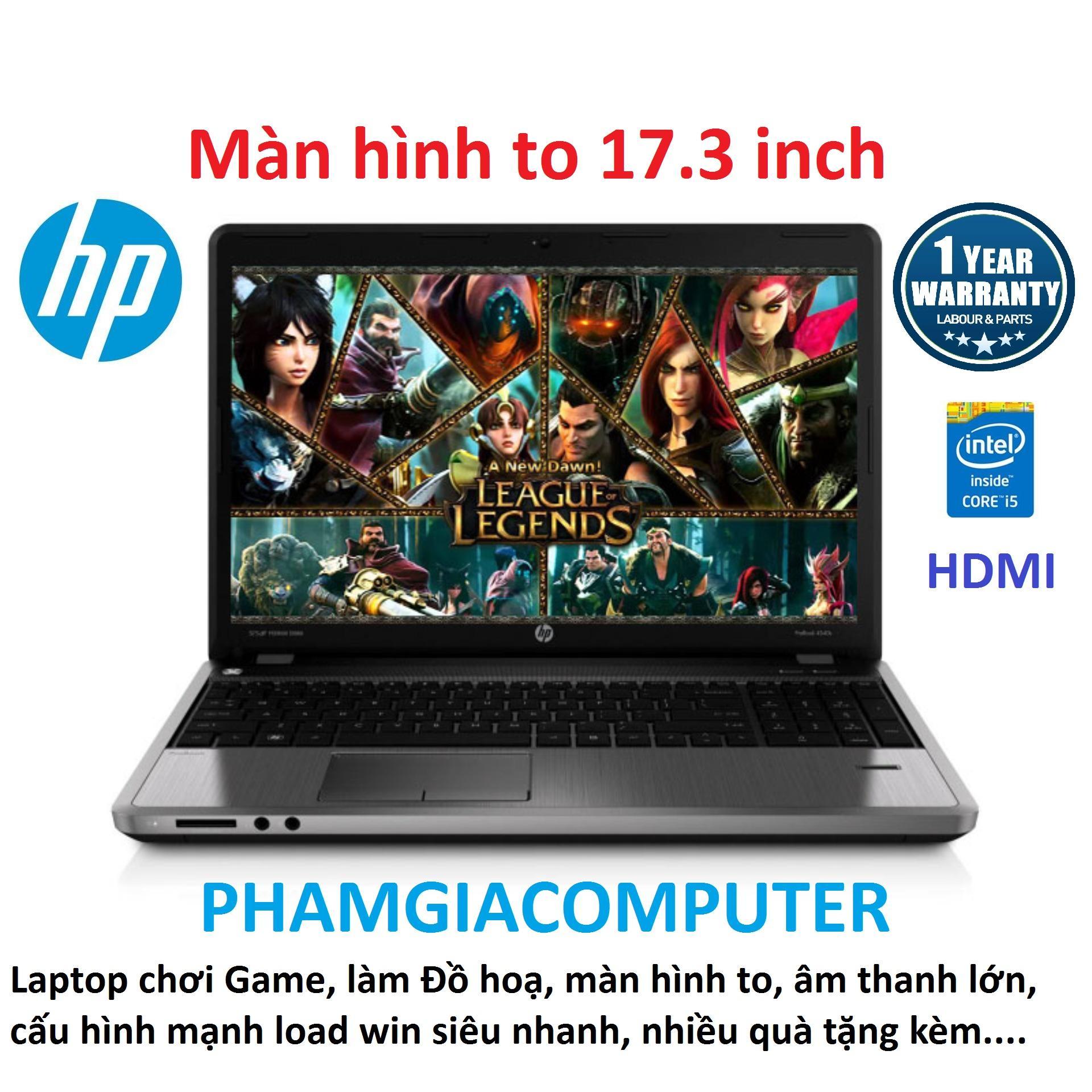 Laptop HP Probook 4730s Core i5 Ram 8G SSD 256G VGA rời AMD màn hình 17.3 - Máy nhập khẩu Nhật-Tặng Balo, chuột không dây